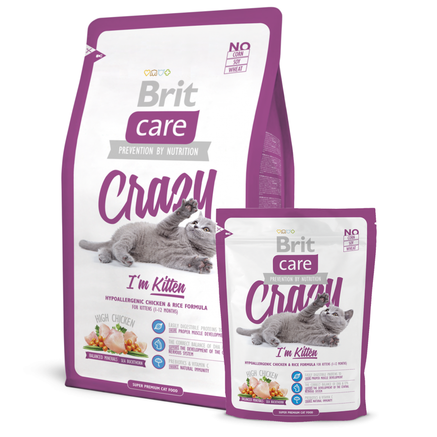Brit Care Kitten Food-Crazy I'm Kitten-The Pet Needs Store